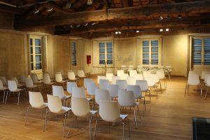 חדר הרצאות ריק